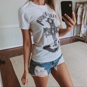 Guns N Roses Black and White T Shirt